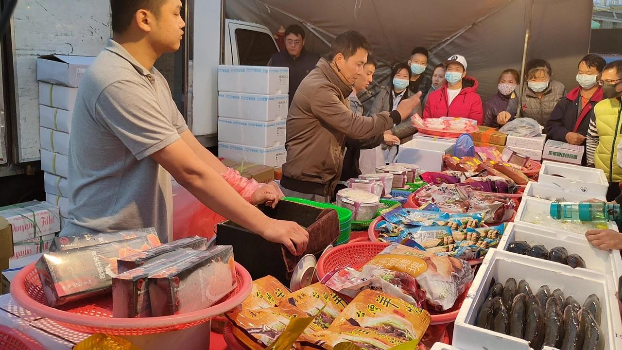 0219-04彰化溪湖夜市海鮮拍賣海鮮叫賣-嘉義張孝全 - YouTube