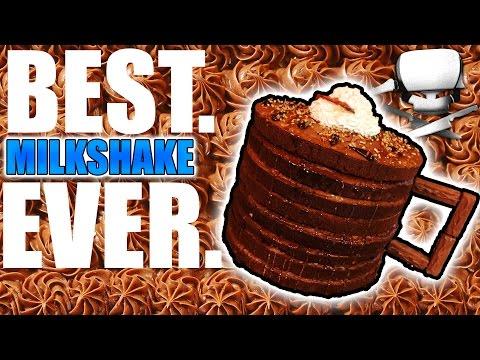 Milkshake in a Cake - Epic Meal Time