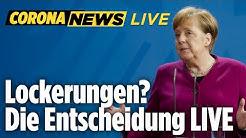 🔴 Merkel verkündet Entscheidung: Diese Maßnahmen werden gelockert | Corona News LIVE