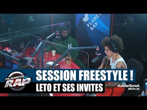 Youtube: Leto – Session freestyle avec Robin & Chanel! #PlanèteRap