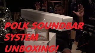 UNBOXING Polk Audio Soundbar System
