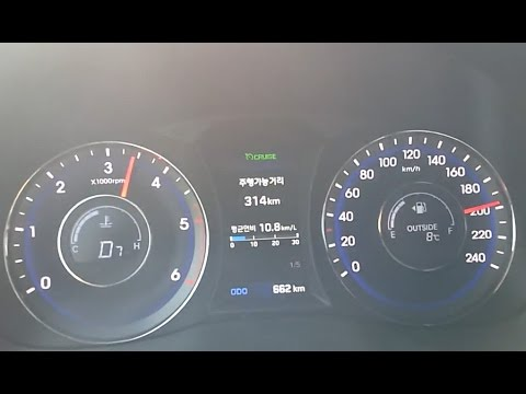 i40  0 200km h  Hyundai the New i40 1.7 Diesel Acceleration 2015 1