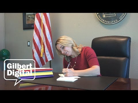 Gilbert, Arizona: Thank You Notes