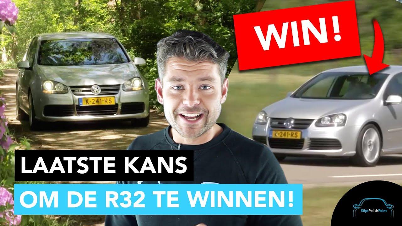 Laatste kans! Vanavond om 19:30 is de uitreiking van de Volkswagen Golf R32 !  - Stipt Polish Point