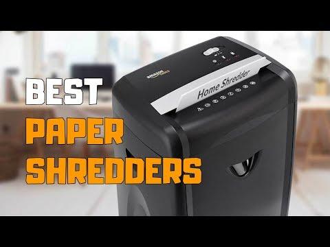 Best Paper Shredders In 2020 - Top 6 Paper Shredder Picks
