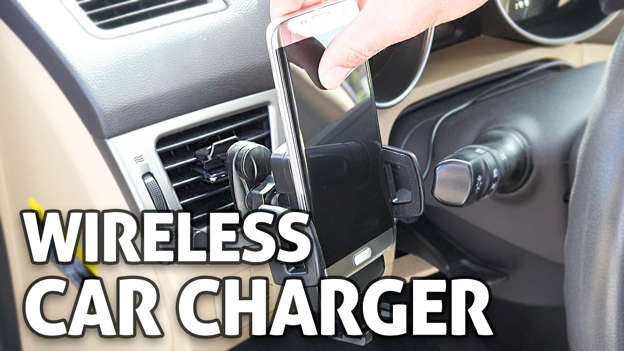Wireless Fast Phone Charger for your Car!