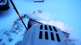 MTD  Plowing Snow Winter Storm Jonas