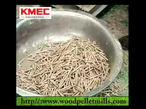 How KMEC Flat Die Pellet Mill Work
