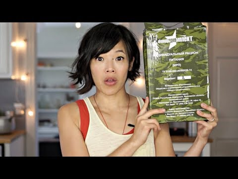 Help! Is This A RUSSIAN Or UKRAINIAN Ration? Taste Test - Meal Ready To Eat RUSSIA MRE