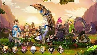 New Game: Dragon Nest M Gameplay  - Siêu phẩm Game Online vừa công phá Mobile