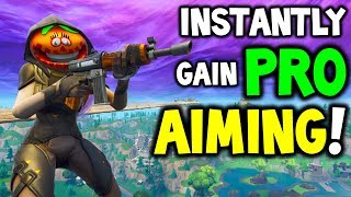 *NEW* Fortnite DRILLS To AIM and SHOOT LIKE PRO! (Secret Playground Map Changes to Improve Aim)
