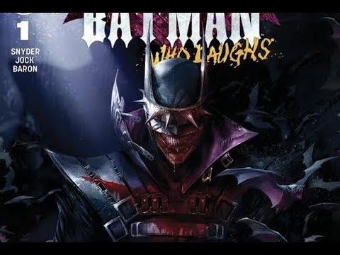 Batman Who Laughs #1 Mattina Variant Cover est dispo (VO)