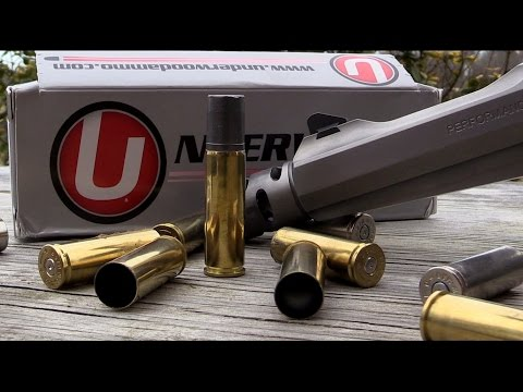 Shooting the 700 grain Underwood Ammo from the 500 S&W revolver