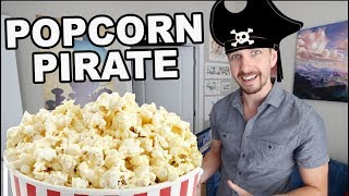 BEN IS A POPCORN PIRATE