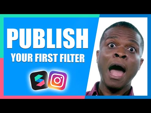 How to Publish Filter Effects | Instagram & Facebook | Spark AR Tutorial thumbnail