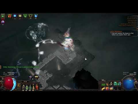 3.10 POE -- Lone Messenger Ethereal Knives Assassin - T16 Lair Of The Hydra