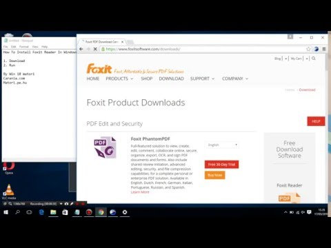 How To Install Foxit Reader In Windows 10