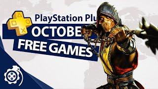 PlayStation Plus (PS4 aฑd PS5) October 2021 (PS+)