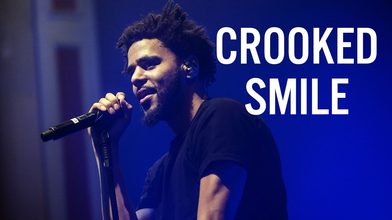 J Cole Crooked Smile Artwork J. Cole - Crooked Smil...