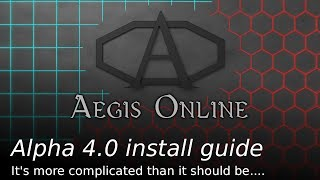 Aegis Online Install and first time setup guide
