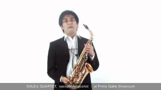 Our Guest Artist #10 Hayato Ikegaya from Soleil Quartet - at Prima Gakki Showroom