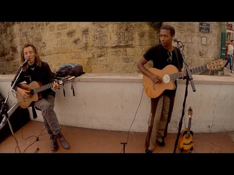 Lisbon Music Street Performers Mistiçu ~ No Me Calles (Salsa)