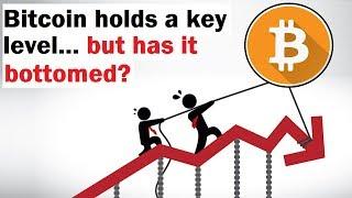 Has Bitcoin Bottomed at This Key Level?