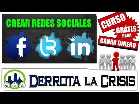4- Crear las Redes Sociales de FACEBOOK, TWITTER y LINKEDIN y las Url | Curso Derrota la Crisis