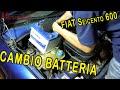 Sostituzione Batteria Fiat Seicento 600