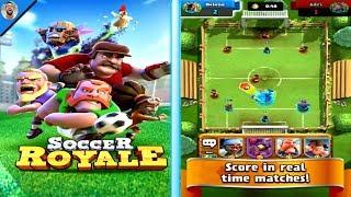 🔴SOCCER ROYALE, the ultimate football clash por PRIMERA VEZ | Fusión entre CLASH ROYALE y SOCCER
