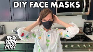 How to make DIY face masks with designer Cynthia Rowley | New York Post