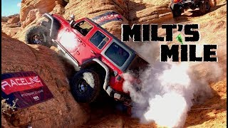 We Attempt Milt's Mile in Our 2018 Jeep Wrangler JLU Rubicon at Trail Hero!