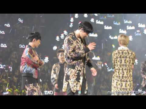140830 EXO ChanYeol - Dance Battle & XOXO@EXO THE LOST PLANET IN GUANGZHOU