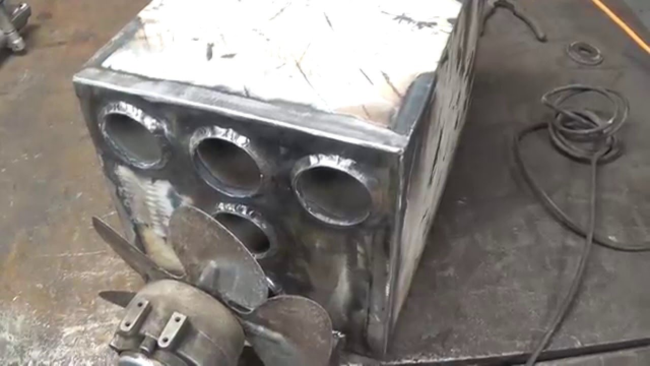 Wood Stove Heat Exchanger Youtube