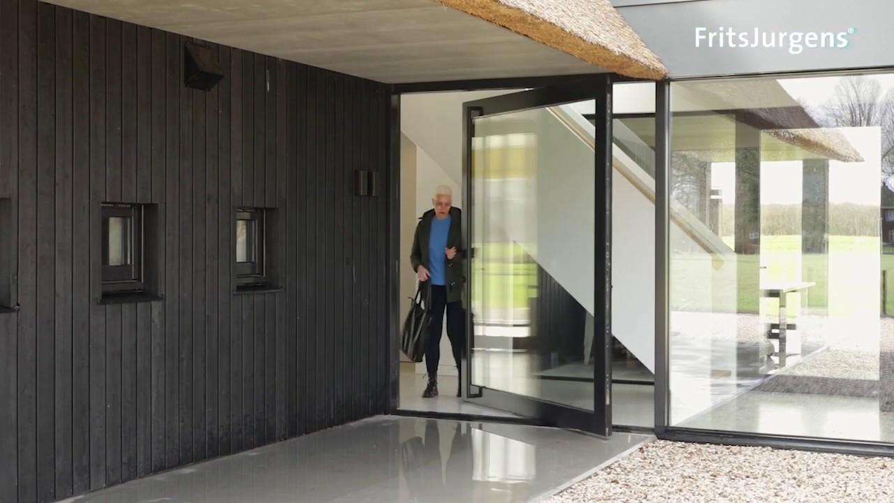 Exterior Pivot Doors Up To 500kg Fritsjurgens Invisible Pivot Hinges