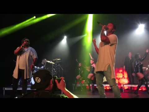 Zion y Lennox concert at Echostage- 9/23/2016