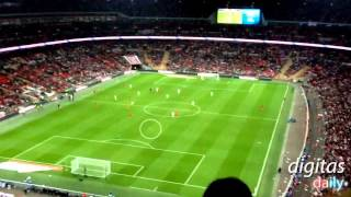 The Best Paper Airplane Throw You'll Ever See - England vs Peru