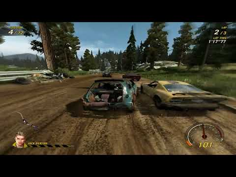 flatout 3 : race 5 with my car of chilli