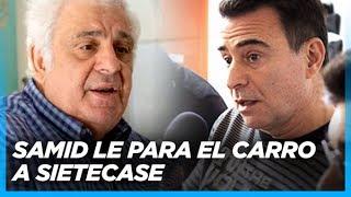 """Si usted me llamó, déjeme hablar! No me meta a Massa, Pichetto y Urtubey dentro del Peronismo"""