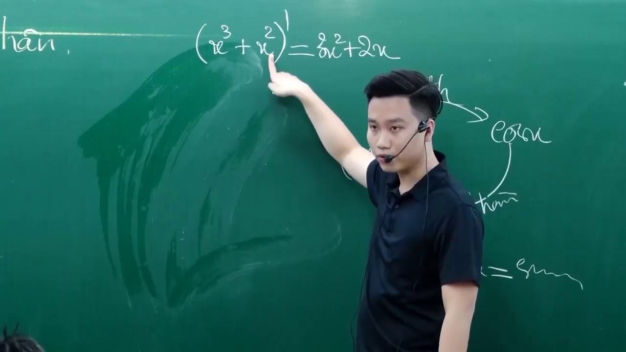 NGUYÊN HÀM (BUỔI 1) _Thầy Nguyễn Quôc Chí