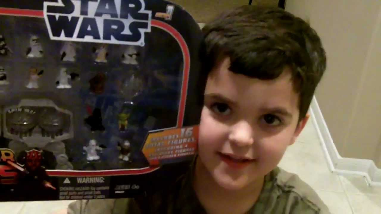 Star Wars Fighter Pods Series 1 - 16 Figure Pack Unboxing - YouTube