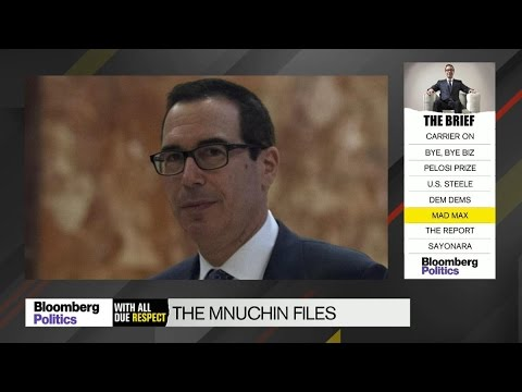 Mnuchin Likely to Take Heat Over OneWest Ownership