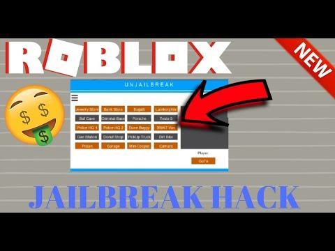 NOVO HACK NO ROBLOX: JAILBREAK HACK SCRIPT AUTO-ROUBO ...