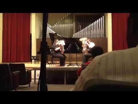 """""""Benediction"""" by John Stevens for Tuba Quartet"""