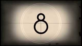 Repeat youtube video Animation - Old film Countdown