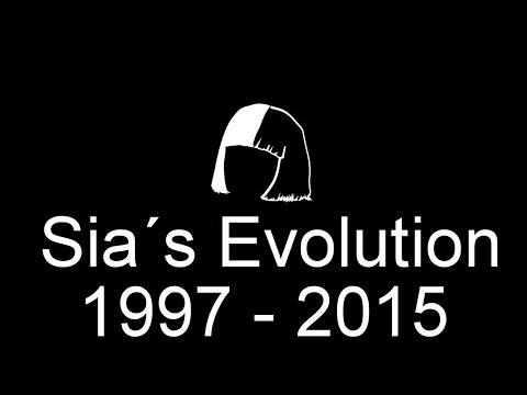 Sia´s Evolution 1997 - 2015 (Discography)