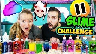 PAUSE SCHLEIM CHALLENGE! Nina nervt Kaan & Kathi beim Slime machen! Wer macht den schöneren Glibber?