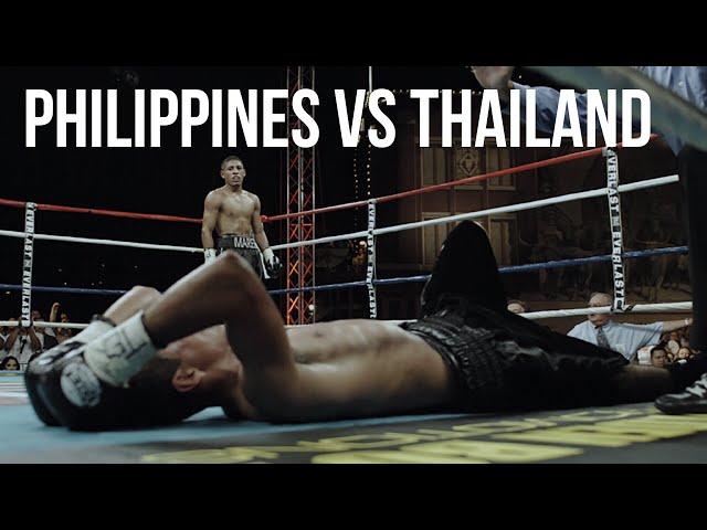 Philippines vs Thailand: Boxing in Bangkok