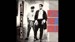 Pet Shop Boys - West End Girls, 1984 (Without Neil Tennant) + Lyrics