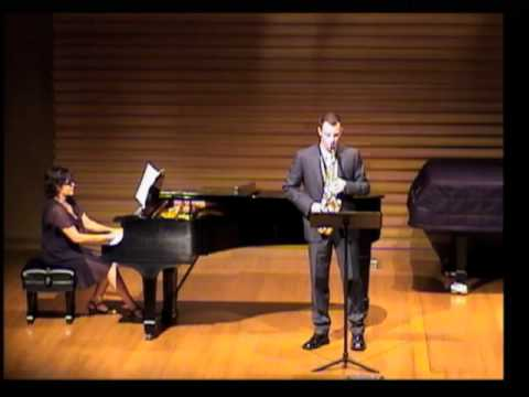 Johnathan Torsak plays Aeolian Song  Warren Benson